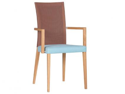 DKK Klose Sessel S43 mit Mikrotaschenfederkern im Sitz und Komfortschaumpolsterung im Rücken Sessel für Wohnzimmer und Esszimmer Bezug in vielen Stoffen und Echtleder wählbar