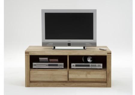 ELFO TV-Kommode DELFT mit 2 Schubkästen und 2 offenen Fächern, Beimöbel Massivholz, TV-Unterschrank Art. Nr. 6212 viel Stauraum für Ihr Esszimmer oder Wohnzimmer