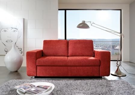 Steinpol Poco Allround Multiflexx Couch in Leder oder Stoff ohne Schlaf-Funktion Ausführung sowie Größe wählbar