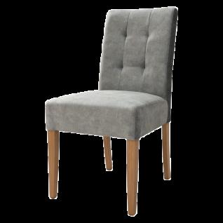 Standard Furniture Polsterstuhl Agra 1 ohne Griff Gestell aus Massivholz Bezug sowie Holzausführung wählbar