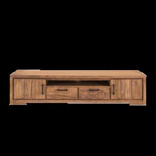 Sit Möbel SANAM Lowboard mit Türen und Schubladen aus Holz Sheesham