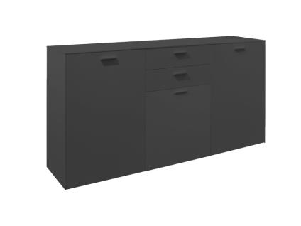 Mäusbacher Arizona Sideboard 32-W für Ihr Wohnzimmer oder Esszimmer mit 3 Türen und zwei Schubkästen Dekor wählbar - Vorschau 2