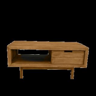 Sit Möbel SANUR Couchtisch mit Schublade aus Teakholz massiv Nature Look