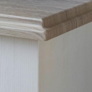 Wohn-Concept Lima Sideboard 20 in Pinie Hell Oberboden MDF Farbe wählbar Kommode mit zwei Holztüren und fünf Schubkästen für Ihr Wohnzimmer oder Esszimmer - Vorschau 4