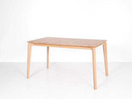 Standard furniture Esstisch Liam Esszimmertisch mit fester Platte oder Liam 1XL mit Mittelauszug Tisch für Esszimmer Holzausführung Tischplattenvariante Größe und Form wählbar