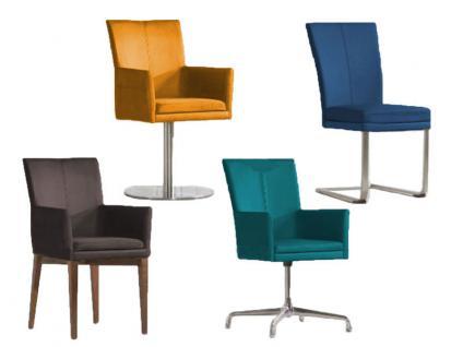 Niehoff Linea Dining Time Stuhlsystem Stuhl Sitzpolster ohne Griff Ausführung Sitzpolster Gestell und Bezug wählbar