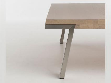 Bert Plantagie Couchtisch Seven passend zum Esstisch Seven Tisch für Wohnzimmer Tischplattenausführung Gestellausführung und Größe wählbar - Vorschau 3