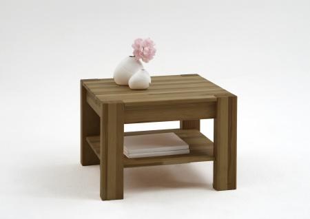 ELFO Couchtisch ArtNr 2773 quadratisch in Wildeiche geölt mit Ablage für Ihr Wohnzimmer oder Gästezimmer
