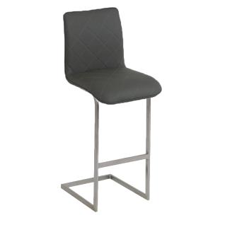 MWA Aktuell Barhocker Milano Sitzschale R mit Steppung und Griff Gestell und Bezug wählbar