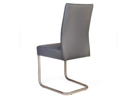 Standard Furniture Schwingstuhl Kadira mit Komfort-Kaltschaumsitz Polsterstuhl für Wohnzimmer oder Esszimmer Gestellausführung und Bezug wählbar - Vorschau 5