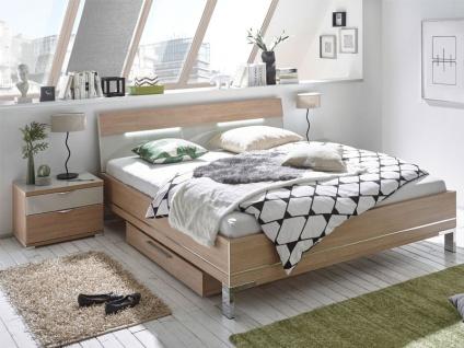 Staud Sinfonie Plus Bett mit Fußteil 3 in Komforthöhe inkl. Kopfteil 2 Liegefläche wählbar