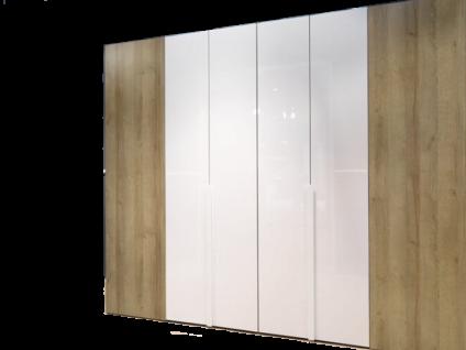 Wellemöbel Ineo Comfort begehbarer Falttürenschrank zweitürig Tiefe 120 cm in Hochglanz und Dekor wählbar