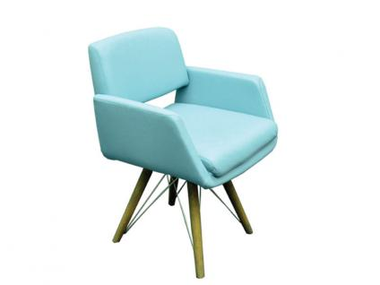 K+W Silaxx 6115 1D 4-Fuß Holzsessel geölt mit Metallstreben Ausführung wählbar KW Möbel Sessel für Esszimmer Bezug wählbar Stuhlsystem H2O