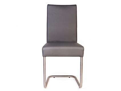 Standard Furniture Schwingstuhl Kadira mit Komfort-Kaltschaumsitz Polsterstuhl für Wohnzimmer oder Esszimmer Gestellausführung und Bezug wählbar - Vorschau 4