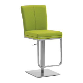 Niehoff Barstuhl Colorado 0121 mit Edelstahlgestell und wählbarem Bezug passend zu Colorado und Linea Dining ideal für Ihr Wohnzimmer oder Esszimmer