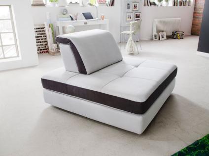 New Look Sessel Freestyle Quad, farbliche Absetzung, inkl. Rückenkissen mit Klappfunktion (Bezug wie Sofaelement)