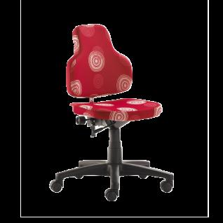 Mayer Sitzmöbel 2207 Drehstuhl für Kinder Schreibtischstuhl Grün, Blau oder Rot