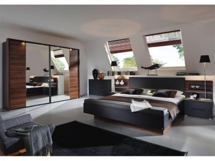 Schlafzimmer Schwarz Nussbaum günstig online kaufen - Yatego