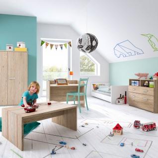 Röhr-Bush puzzle baby 3-teiliges Babyzimmer bestehend aus Babybett, Wickelkommode und Highboard Kleiderschrank Höhe ca. 143, 5 cm - Vorschau 3