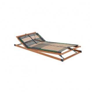 Dico Möbel Spiritstyle 7- Zonen Lattenrost Kopf und Fußteil manuell verstellbar Liegefläche ca. 90 x 200 cm