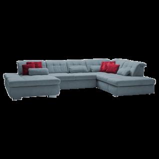 Megapol Ecksofa MP-IN17004 Stage in innovativem Design und eleganter Steppung in Sitz und Rücken