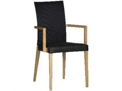 DKK Klose Sessel S44 auch zweifarbig mit Mikrotaschenfederkern im Sitz und Gummigurtpolsterung im Rücken Stuhl für Wohnzimmer und Esszimmer Bezug in vielen Stoffen und Echtleder wählbar