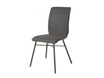 Bert Plantagie Stuhl Tara Four 812 mit Bi-Color-Polsterung (zweifarbig) Polsterstuhl für Esszimmer Esszimmerstuhl Gestellausführung und Bezug in Leder oder Stoff wählbar