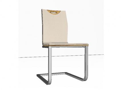 stuhl freischwinger mit armlehnen kaufen bei yatego. Black Bedroom Furniture Sets. Home Design Ideas
