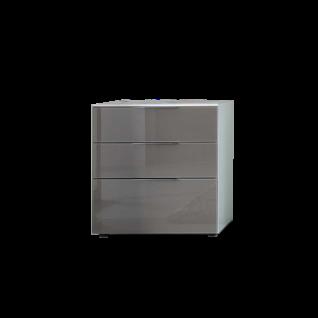 Staud Premium Konsole Nachtkonsole Korpus und Front vollverglast mit 2 oder 3 Schubkästen wählbar Korpus in Glas und Front in Glas oder Spiegel wählbar
