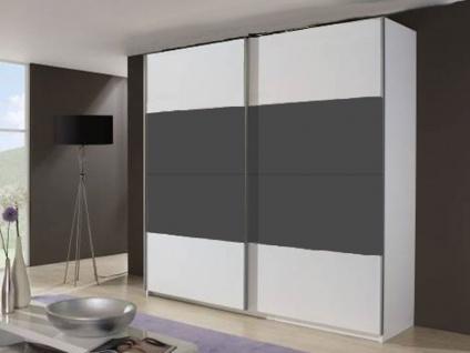 Rauch Select Beluga-Base Schwebetürenschrank Variante A Kleiderschrank Größe und Ausführung horizontal wählbar