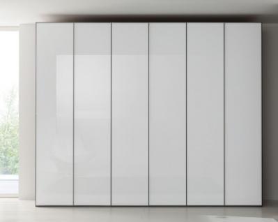 Nolte Marcato Drehtürenschrank Kleiderschrank Ausführung 1C Korpus und Front wählbar Front in Glas oder Glas matt