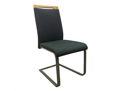 Klose Schwingstuhl S59 Freischwinger 2241 Stuhl für Wohnzimmer und Esszimmer Gestell Flachrohr in Chrom oder Edelstahl und Bezug in vielen Stoffen und Echtleder wählbar