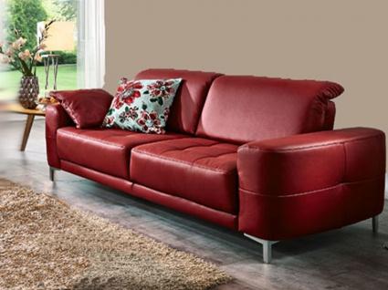 Dietsch Corazon Vital Einzelsofa Sofa mit Sitztiefenverstellung Boxspring Sitz Stoff oder Leder wählbar