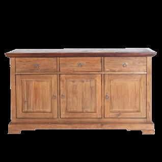 Sit Möbel SEADRIFT Sideboard mit Schubladen und Türen aus Teakholz massiv