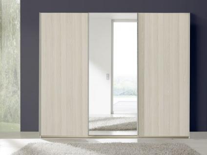 Nolte Marcato Schwebetürenschrank Kleiderschrank Ausführung 1B mit Grauspiegel, Korpus und Teilfront wählbar