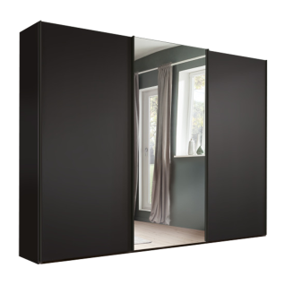 Nolte Möbel Savena / Samia Schwebetürenschrank Front in Dekor mit Kristallspiegel Größe und Farbausführung wählbar optional mit Dämpfung