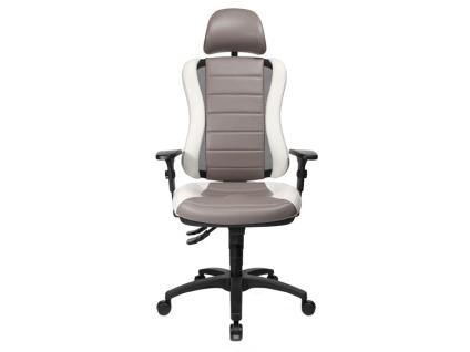 TopStar Head Point RS Drehstuhl mit Sitzhöhenverstellung Armlehnen und Multifunktionakopfstütze Bürostuhl in wählbarer Farbausführung