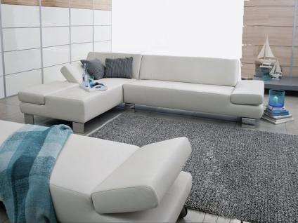 Schillig Willi Eckcouch Taboo 22070 Sofa Stellvariante und Anstellhocker wählbar in Stoff oder Leder verschiedene Fußausführungen in zwei Sitzhöhen