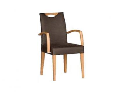 Dkk Klose Sessel S42 Marshmallow mit Griff Polsterstuhl 952 mit Armlehnen für Wohnzimmer oder Esszimmer in vier Polstervarianten Gestell aus Massivholz in verschiedenen Holzausführungen Bezug Leder oder Stoff in großer Auswahl erhältlich