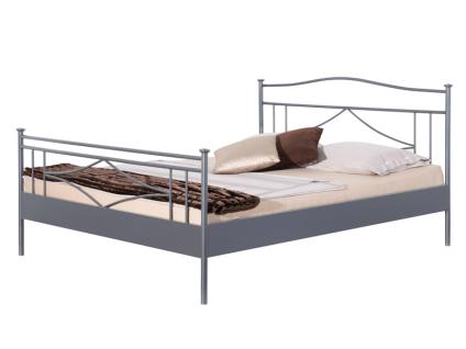 Neue Modular Punto Stintino Bett aus Metall in schiefergrau matt lackiert Liegefläche ca. 180x200 cm optional mit passenden Nachttischen Stintino
