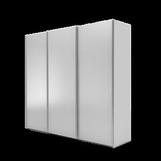 Nolte Möbel Marcato 2.1 Schwebetürenschrank Ausführung 1 ohne Sprossen Korpus in Dekor und Front in Glas matt Farbausführung und Schrankgröße wählbar