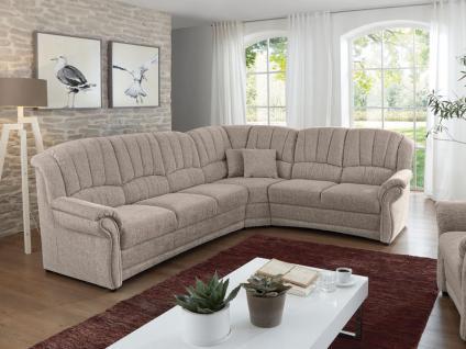 Polipol Wohnlandschaft In Feeling Ecksofa Sofa 3-Sitzer, Ecke und 2-Sitzer Couch spiegelverkehrt lieferbar Ausführung wählbar