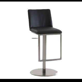 Niehoff Barstuhl 4021 Stuhl mit Lift-Funktion Barhocker für Küche oder  Partyraum Kunstleder Ausführung in schwarz ***AM LAGER***