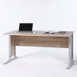 Bega Consult Office Line Schreibtisch in Eiche Sonoma Dekor - optional wählbar mit Rollcontainer