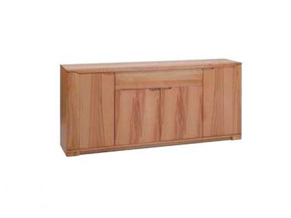 Dkk Klose Kollektion K12 Kastenmöbel Sideboard 4tlg. Kommode mit Riffelapplikation für Wohnzimmer oder Esszimmer Ausführung und Beleuchtung wählbar