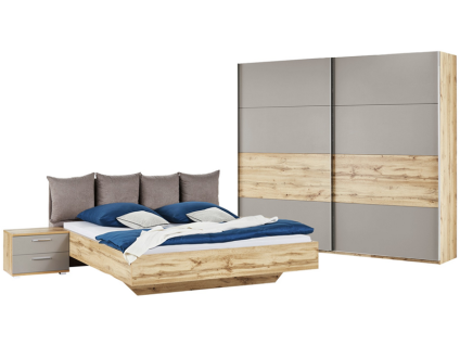 schlafzimmer milano online bestellen bei yatego. Black Bedroom Furniture Sets. Home Design Ideas