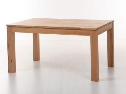 Standard furniture Esstisch Toby mit beidseitigen Vorkopfauszügen Tisch für Esszimmer Größe und Holzausführung wählbar