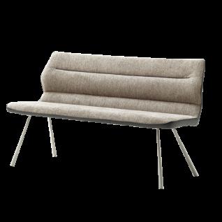 MCA furniture Bank Orlando in Chenille-Optik Bezugsfarbe wählbar ideal für Ihr Esszimmer oder Ihre Küche