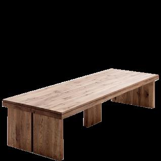 MCA Furniture Tisch Dublin 400 in Eiche Massivholz lackiert und wählbarer Ausführung ideal für Ihr Wohnzimmer oder Esszimmer