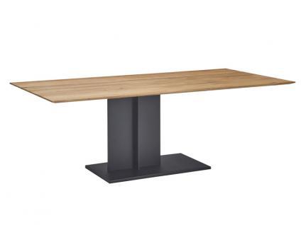 K+W Möbel 5118 Esstisch in Massivholz oder Glas für Esszimmer Ausführung wählbar
